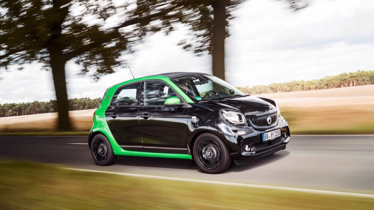 Smart Forfour Electric Drive 2017 2018 Price And Specifications